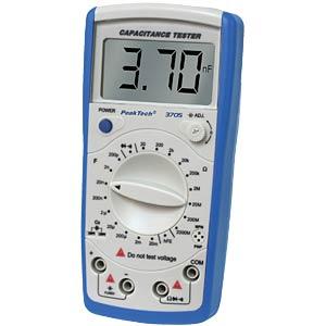 PeakTech 3705 Digital-Kapazitätsmessgerät PEAKTECH 3705