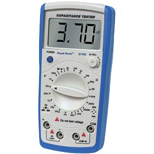 PeakTech 3705 digital capacitance meter PEAKTECH 3705