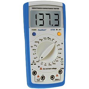 Inductance/capacitance meter PEAKTECH 3730