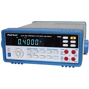 Tischmultimeter, digital, 53000 Counts PEAKTECH PT4000