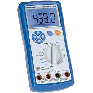 Digital-Multimeter, 3 5/6-stellig PEAKTECH P 4390