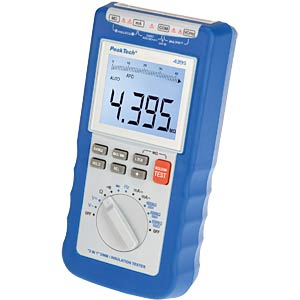 Isolationsmessgerät mit Digital-Multimeter PEAKTECH P4395