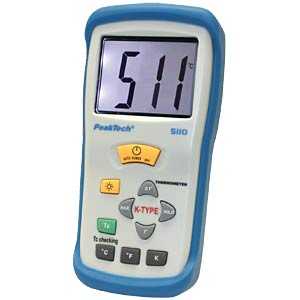 Digital-Thermometer, -50 bis +1300°C PEAKTECH