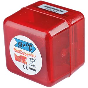 Datenlogger RedCube AXEL-TEMP, Beschleunigung, Temperatur MEILHAUS REDCUBE AXEL-TEMP