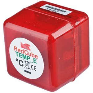 RedCube TEMP mini logger temperature up to 120 °C MEILHAUS REDCUBE TEMP E