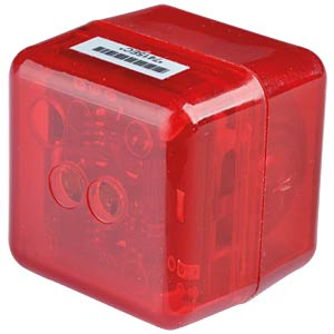 RedCube TEMP mini logger temperature up to 120 °C, waterproof MEILHAUS REDCUBE TEMP EW