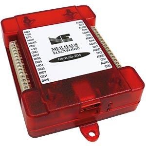USB-Messlabor RedLab 204, 8 A/D-Kanäle, USB MEILHAUS ME-REDLAB 204