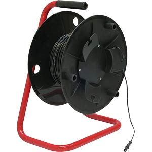 Compact Cable Reel, Ø 4 mm, 50 m, red ELECTRO PJP REELECO2310F4-50-2