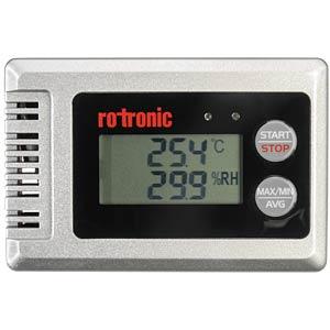 Datenlogger HygroLog HL-1D, Temperatur, Luftfeuchte, 0 - 100 %rF ROTRONIC HL-1D-SET