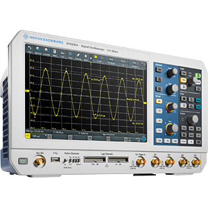 Digitale opslagoscilloscoop RTB 2004, 300 MHz, 4 kanalen, ALL-IN ROHDE & SCHWARZ R&S®RTB2K-COM4