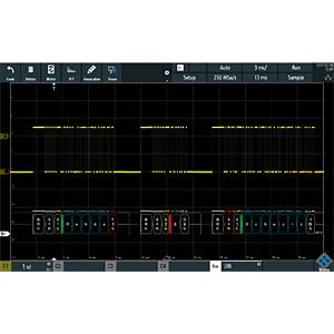 Digital-Oszilloskop, 300 MHz, 4 CH + PK1 Software ROHDE & SCHWARZ