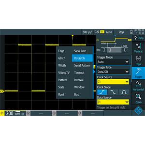 Erweiterung für RTH-Serie, Advanced Trigger Functionality ROHDE & SCHWARZ 1326.0642.03