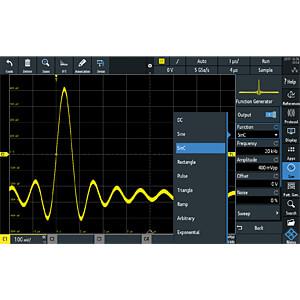 Erweiterung für RTM3000-Serie, Function Generator ROHDE & SCHWARZ 1335.8994.03