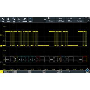 Erweiterung für RTM3000-Serie, CAN/LIN Trigger & Decode ROHDE & SCHWARZ 1335.8820.03