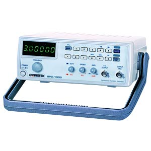 DDS Function Generator, 0.1 Hz to 3 MHz GW-INSTEK 01FG100300GS