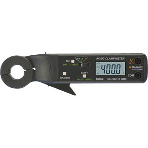Stromzange, digital, AC/DC, bis 400 A KAISE SK-7682