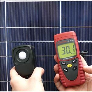 Einstrahlungsmessgerät mit externem Sensor AMPROBE 3474979
