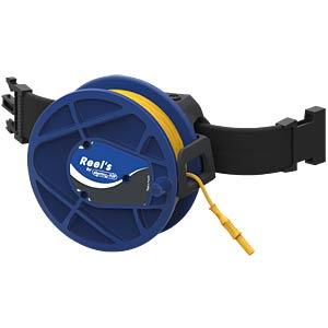 Kabeltrommel, Ø 4 mm, 50 m, schwarz ELECTRO PJP STB-REEL2310-50-0