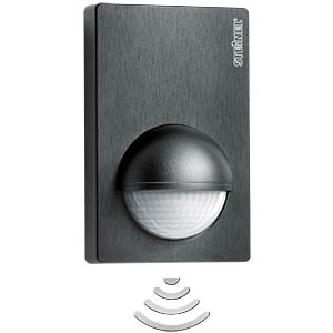 STEINEL IS 180-2 motion detector, black STEINEL 603113