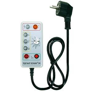 Testavit Schuki 2K - RCD outlet tester TESTBOY SCHUKI 2K