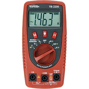 Digital multimeter with voltage sensor and LED lamp TESTBOY TESTBOY 2200