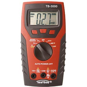 Digital multimeter with voltage sensor and LED lamp TESTBOY TESTBOY 3000