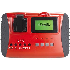 Device tester according to DIN EN 0701-0702-0751 TESTBOY TV 470