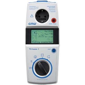 Safety tester TG basic 1 DE, VDE testing device GILGEN, MÜLLER & WEIGERT 100153