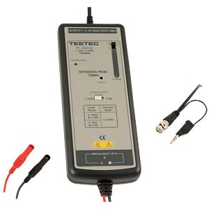 Active differential probe 100 MHz, x100/x1000 TESTEC TT-SI 9110