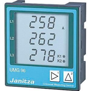 LCD-Universalmessgerät UMG 96L, 400 V, Impulsausgang FREI 129-52.14.001