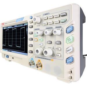 Digitale geheugenoscilloscoop, 70 MHz, 2 kanalen, Ultra Phosphor UNI-TREND UPO2072CS