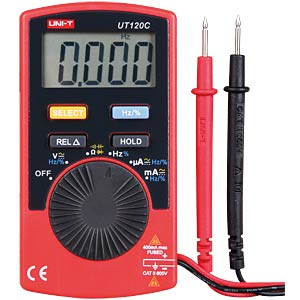 UNI-T Mini-Digitalmultimeter 4000 Counts UNI-TREND UT120C