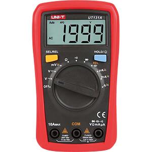 Multimeter, digital, 2000 Counts, Palm size UNI-TREND UT131A