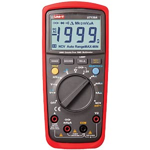 UNI-T TRMS Digital-Multimeter, 2000 Counts UNI-TREND UT139A