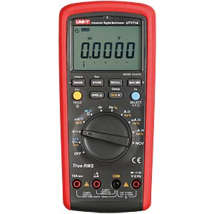 TRMS Digital Multimeter, 40.000 Counts UNI-TREND UT171A