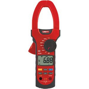 AC/DC digital clip-on measuring instrument, up to 1000A UNI-TREND UT 208