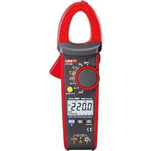 TRMS digital clip-on measuring instrument, 600A AC/DC UNI-TREND UT216C