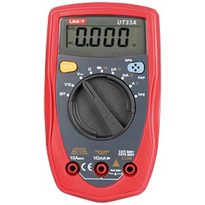 UNI-T handliches Digitalmultimeter, 4000 Counts UNI-TREND UT33A