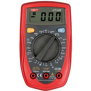 Multimeter, digital, 2000 Counts, DC UNI-TREND UT33B