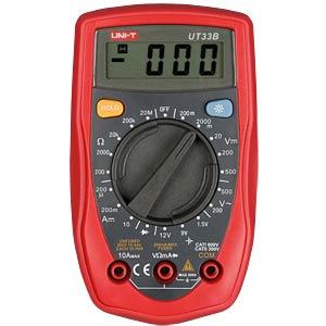 Digital Multimeter, 2000 Counts UNI-TREND UT33B