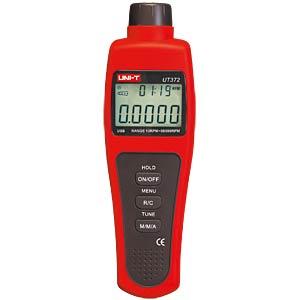 Digital tachometer, 5-digit, USB UNI-TREND UT372