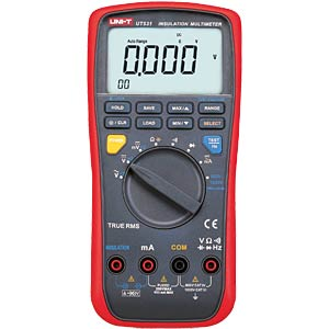 Isolationsmessgerät, Digital-Multimeter UNI-TREND UT531