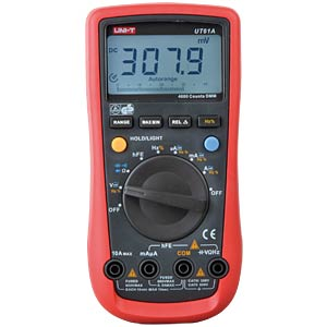 Multimeter, digital, 4000 Counts UNI-TREND