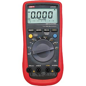Multimeter, digital, 6000 Counts, TRMS UNI-TREND UT61D