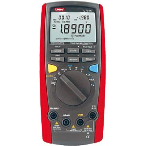 Multimeter, digital, 20000 Counts, TRMS UNI-TREND UT71A