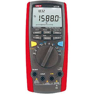 Multimeter, digital, 20000 Counts, TRMS UNI-TREND UT71B
