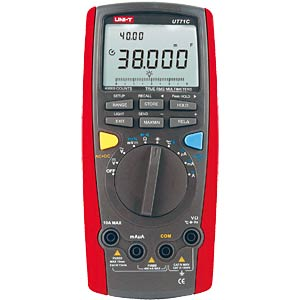 Multimeter, digital, 40000 Counts, TRMS UNI-TREND UT71C