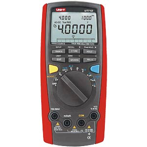 Multimeter, digital, 40000 Counts, TRMS UNI-TREND UT71D