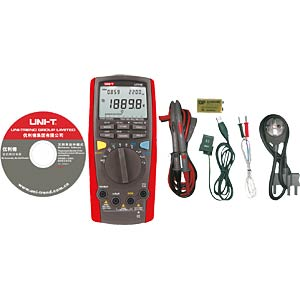 Multimeter, digital, 40000 Counts, TRMS UNI-TREND UT71E