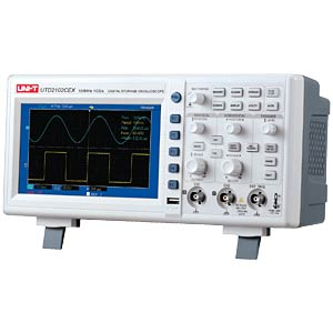 Digital-Speicher-Oszilloskop, 100MHz, 1GS/s UNI-TREND UTD2102CEX